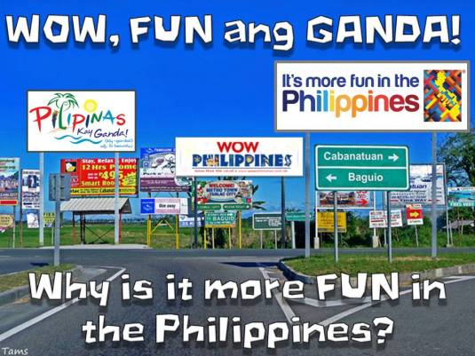 """new tourism slogan it s more fun With the hype of philippine's new tourism slogan, """"it's more fun in the philippines"""" what can you say about this [."""