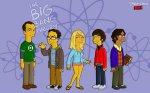 the big bang theory simpsons too