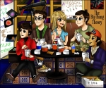 The-Gang-the-big-bang-theory-by Sasukee23loveer