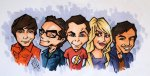 The_Big_Bang_Theory_by_DarkDorArt