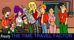 timetravelfactor big bang theory futurama crossover